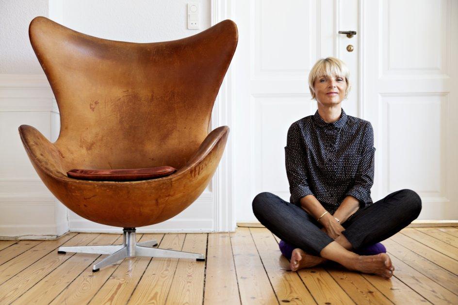Til serien mig og min klassiker Hanne Vibeke Holst om klassikeren Ægget