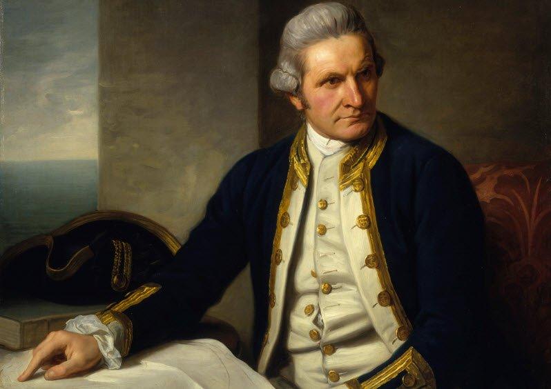 Den mytiske hvide verden fik også den berømte kaptajn James Cook til på sin anden ekspedition mellem 1772 og 1775 at søge.