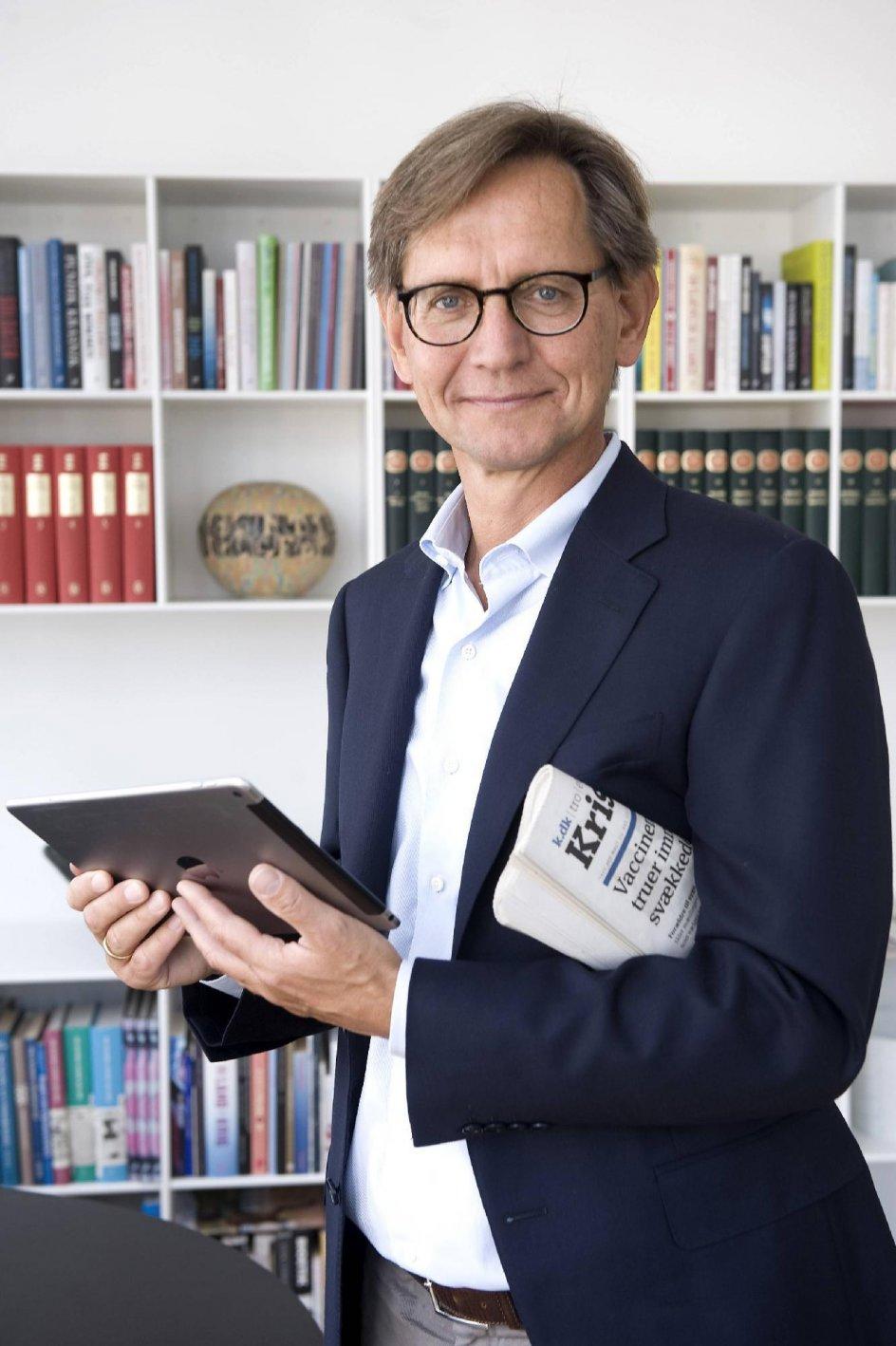 Erik Bjerager er chefredaktør på Kristeligt Dagblad.