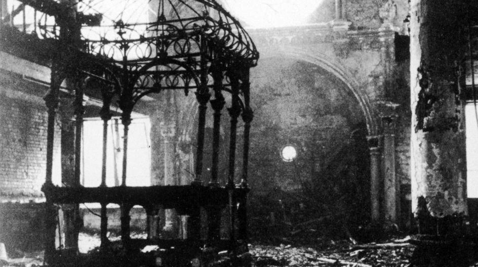 267 synagoger blev sat i brand under Krystalnatten i Tyskland den 9. november 1938, skriver Finn Rudaizky.