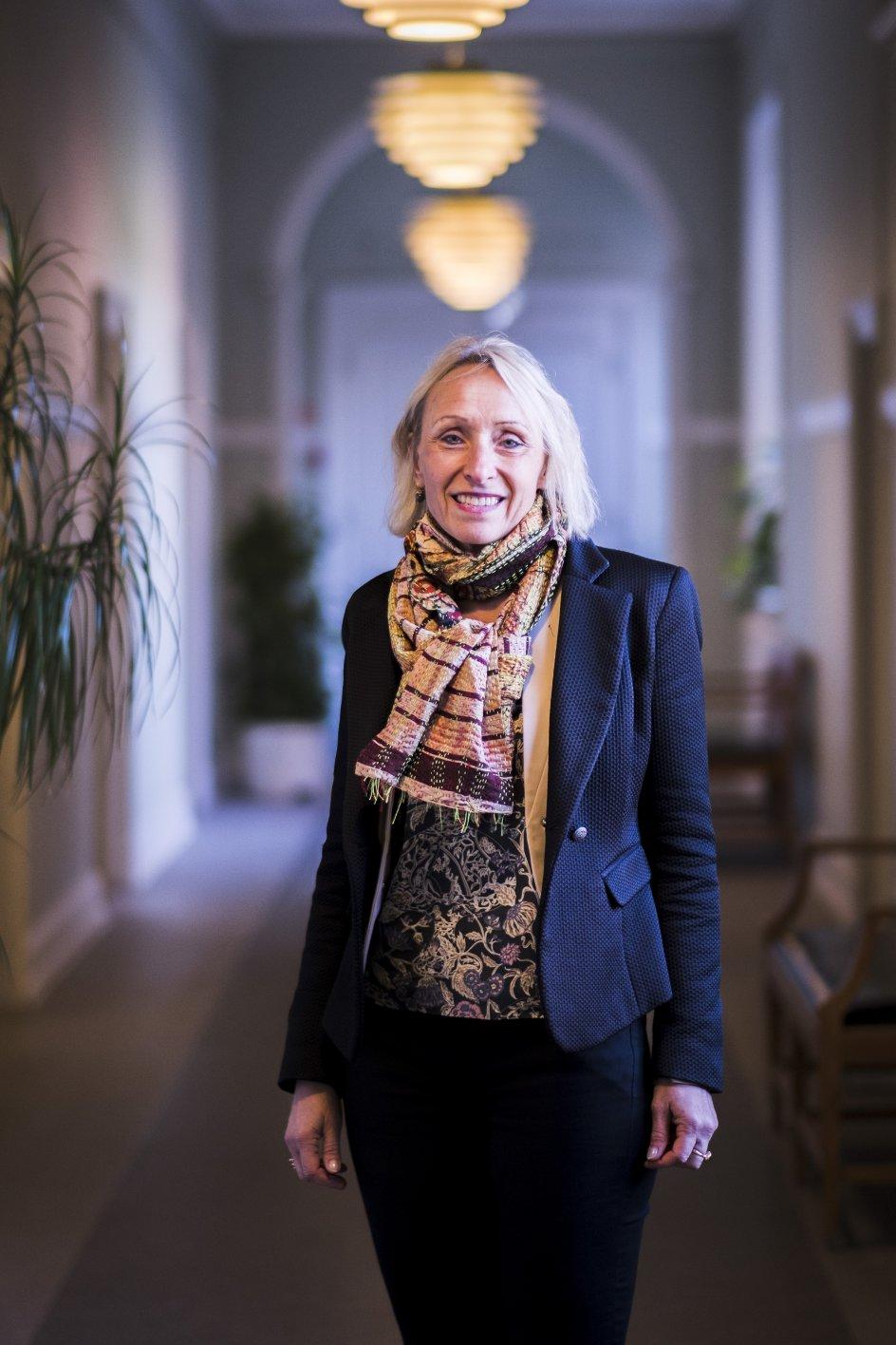 Diakonissestiftelsen fungerer som et tilbud til mennesket i alle livsfaser, fortæller direktør Anne Mette Fugleholm.