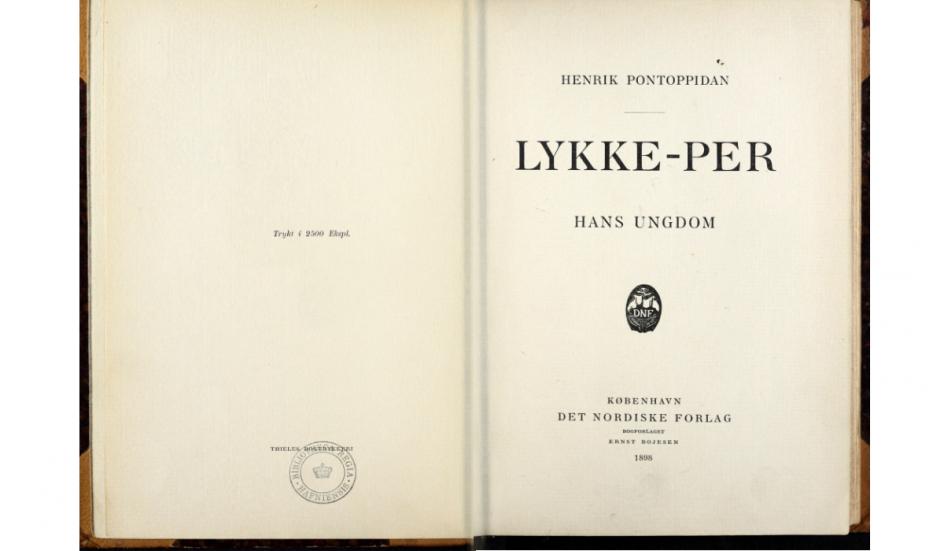 En indscannet udgave af Lykke-Per fra 1898