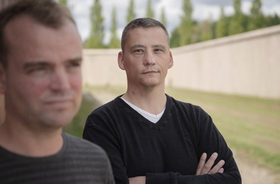 Herstedvester.Lars Irgens Petersen og Thomas Bjerg Mikkelsen har skrevet en bog sammen.