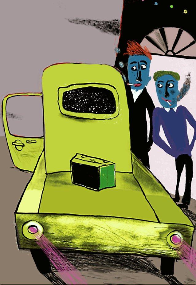 """Lilian Brøgger har lavet illustrationer til de tre """"Fupz'ke lignelser""""."""
