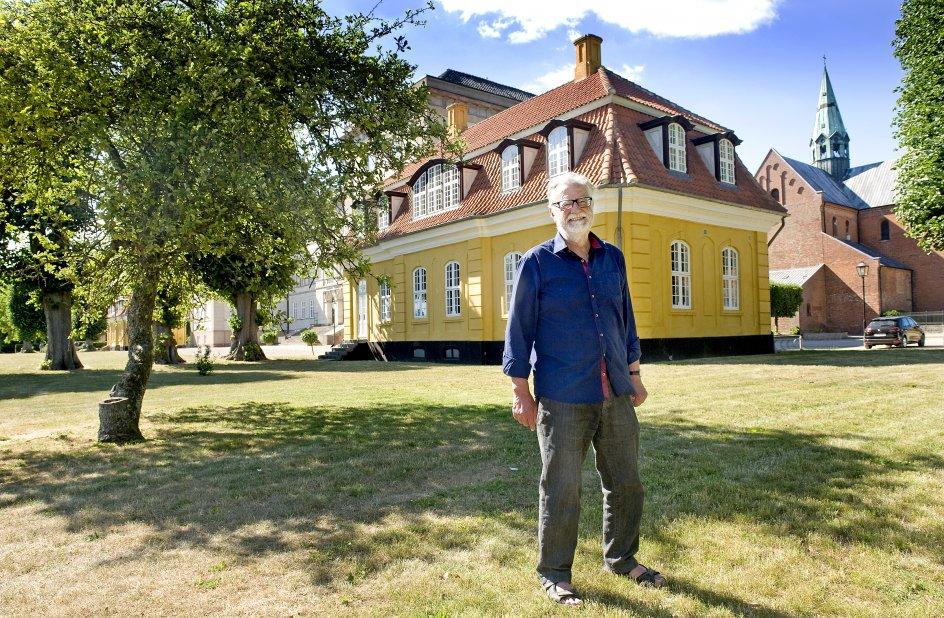Erik A. Nielsen ved Ingemanns Hus.