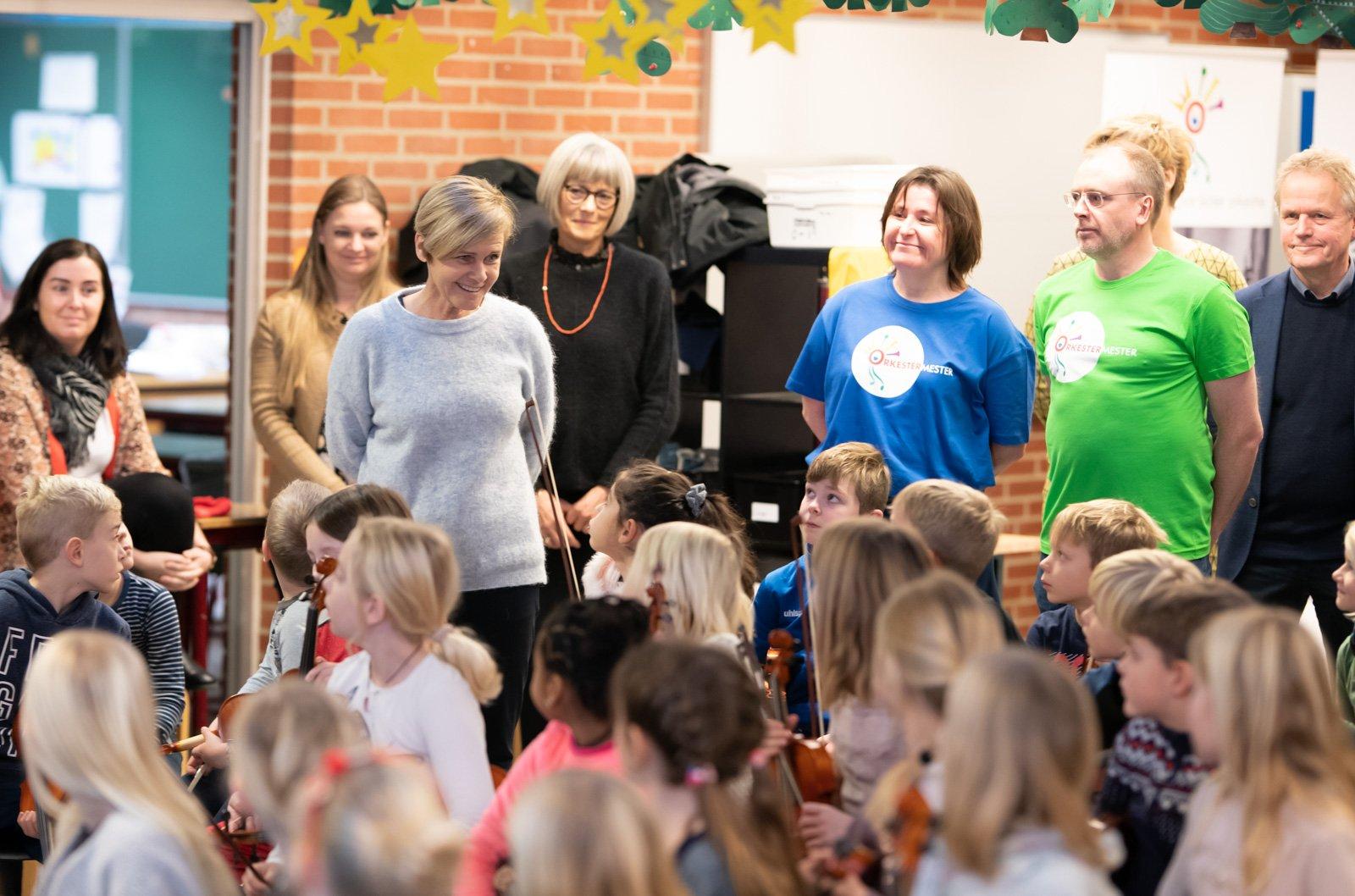"""""""Der er rigtigt mange børn, som er interesseret i rytmisk musik, og som går på den lokale musikskole eller spiller i et lille band,"""" lyder det fra kulturminister Mette Bock (LA)."""