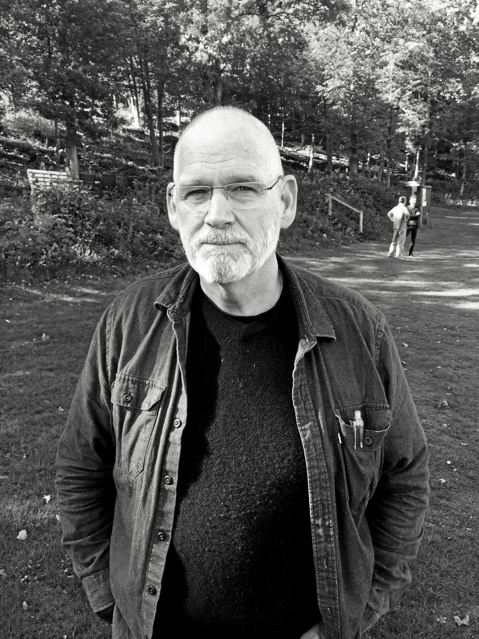 David Rice er den ældste på dette manderetræte i Sverige. –