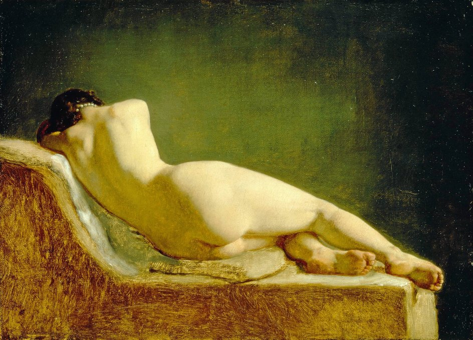 Nivaagaards Malerisamlings stifter, Johannes Hage, ville nok ikke selv have valgt dette billede til sin samling efter datidens museale standarder. Men i dag kan man godt vise, at guldaldermalerne beskæftigede sig med det kødelige liv.