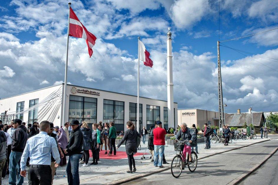 Det 6700 kvadratmeter store kulturcenter med moské, ældrecenter og legeland i Rovsingsgade på Nørrebro i København blev indviet torsdag den 19. juni 2014