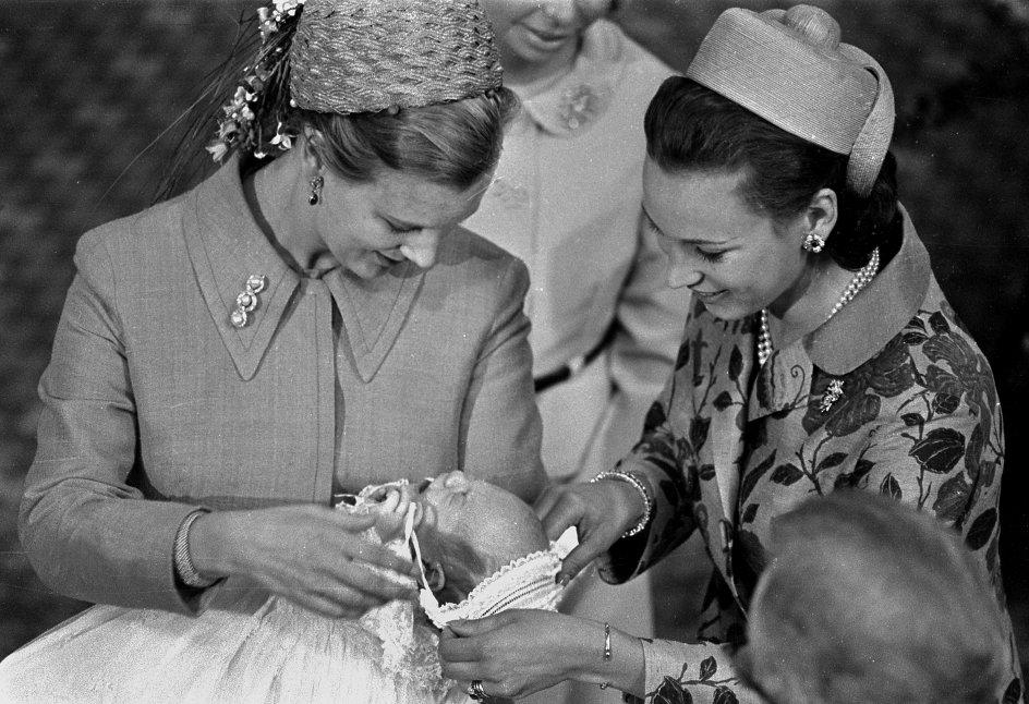 Prins Joachim' barnedåb i Århus Domkirke 15. 7. 1969.
