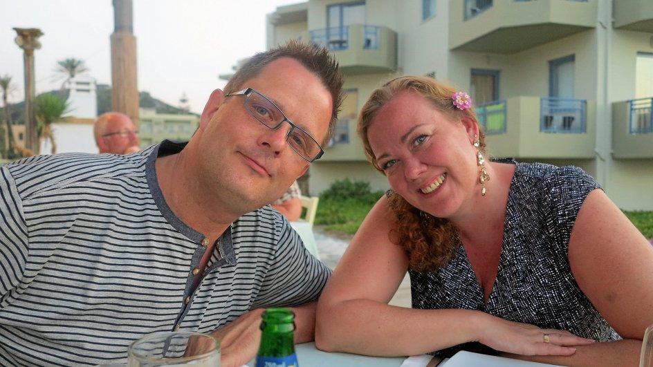 Thomas og Lene Winterberg, privatfoto.