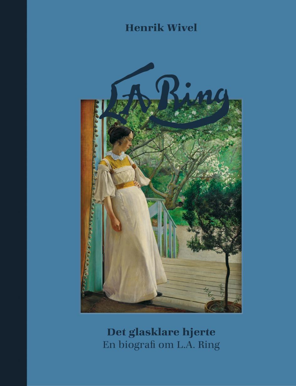 Den 72-årige maler L.A. Ring i gang med et skilderi på St. Jørgensbjerg ved Roskilde, hvor han fandt motiverne til mange af sine landskabsbilleder med socialt engagement. – Arkivfoto: Holger Damgaard/Ritzau Scanpix