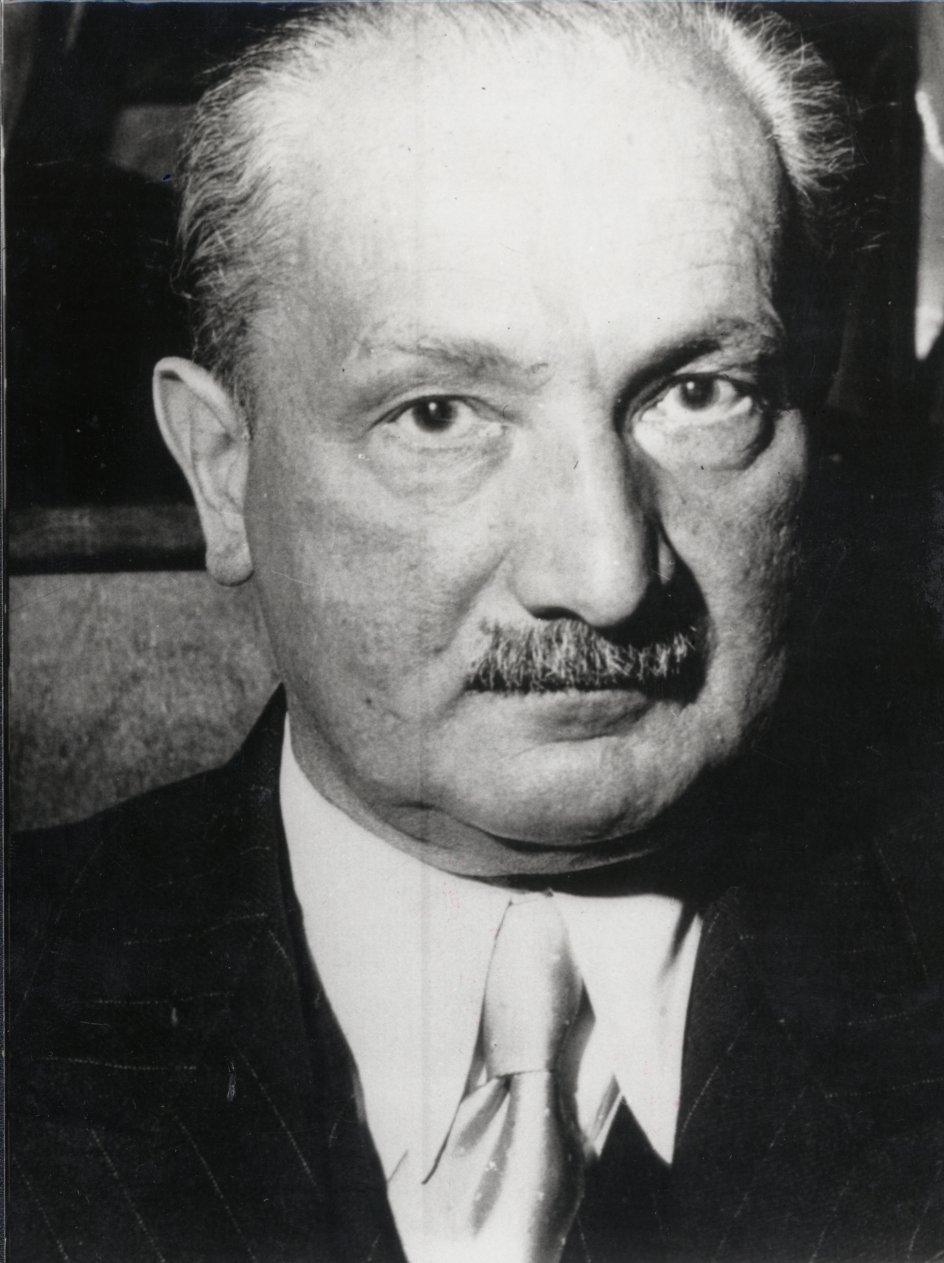 Martin Heidegger. – Foto: Ritzau Scanpix.
