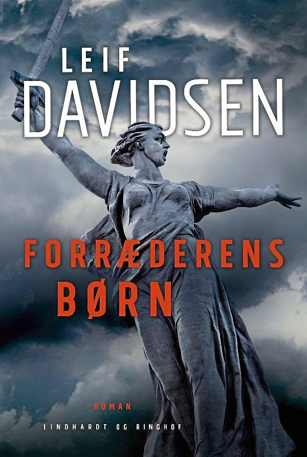 "Leif Davidsens roman ""forræderens børn""."