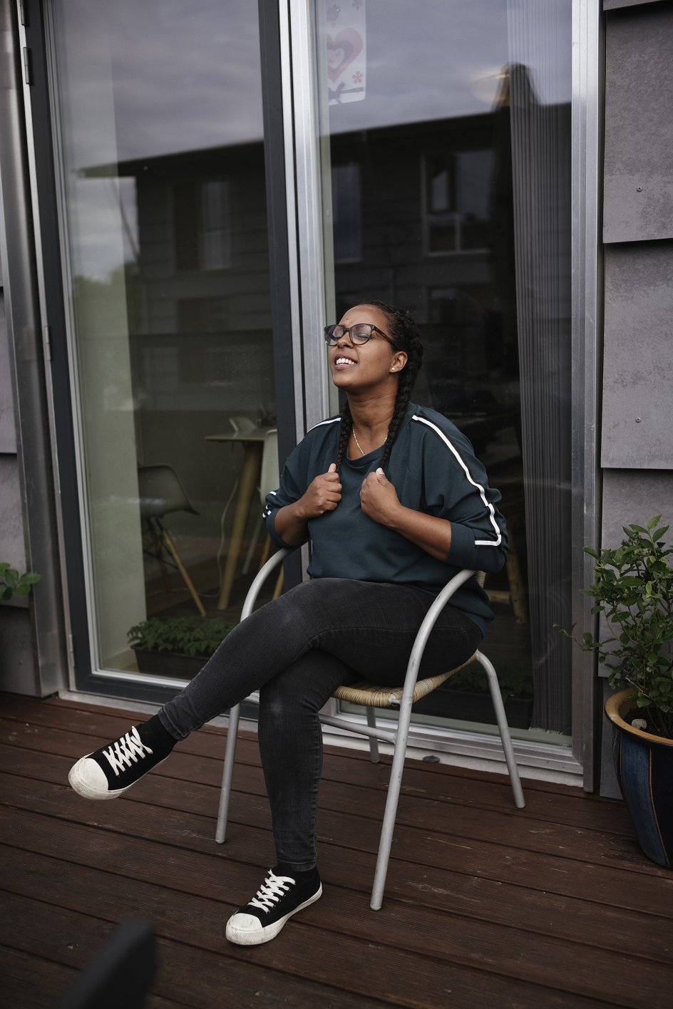 Mary Tesfay bor i dag på Amager med sin mand og tre børn.