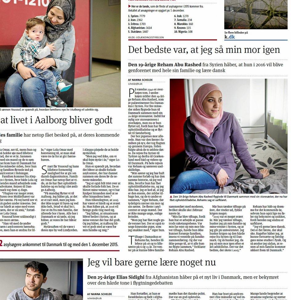 Kristeligt Dagblad mødte i december 2015 Reham Abu Rashed i asylcenteret.