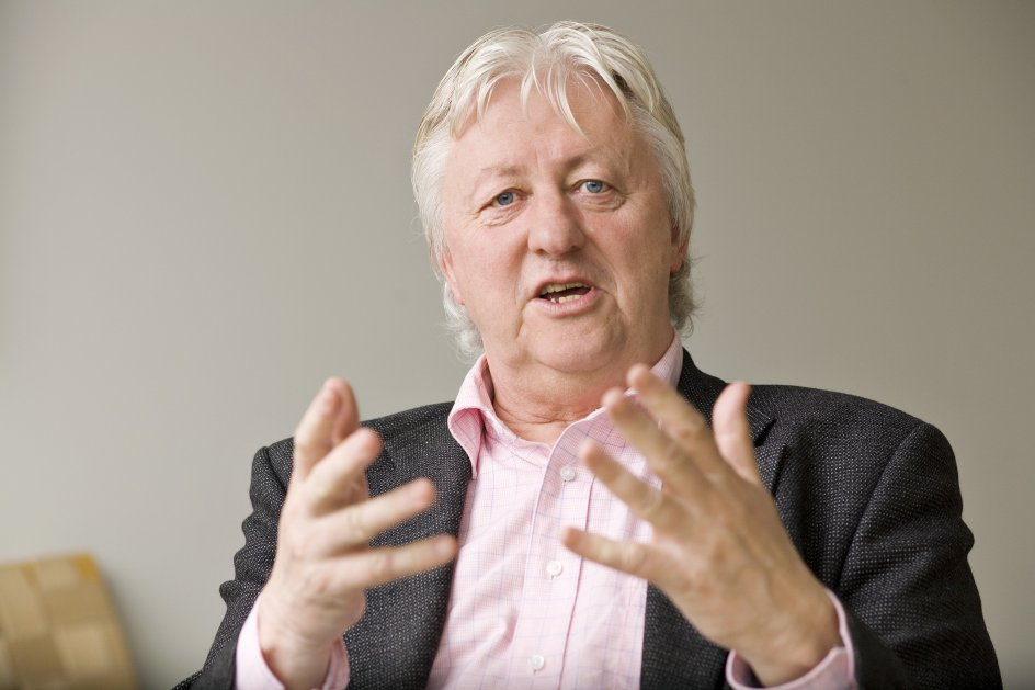 Hans Hauge er dr.phil., lektor emeritus ved Aarhus Universitet. – Foto: Lars Aarø/Fokus.