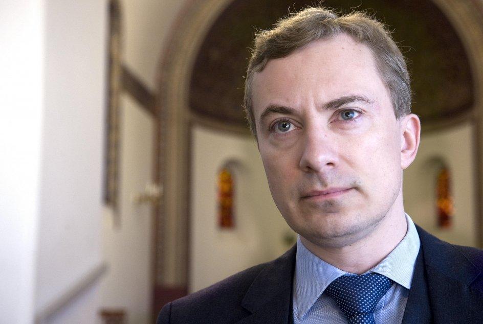 Morten Messerschmidt er næstformand og kulturordfører i Dansk Folkeparti. – Foto: Leif Tuxen.