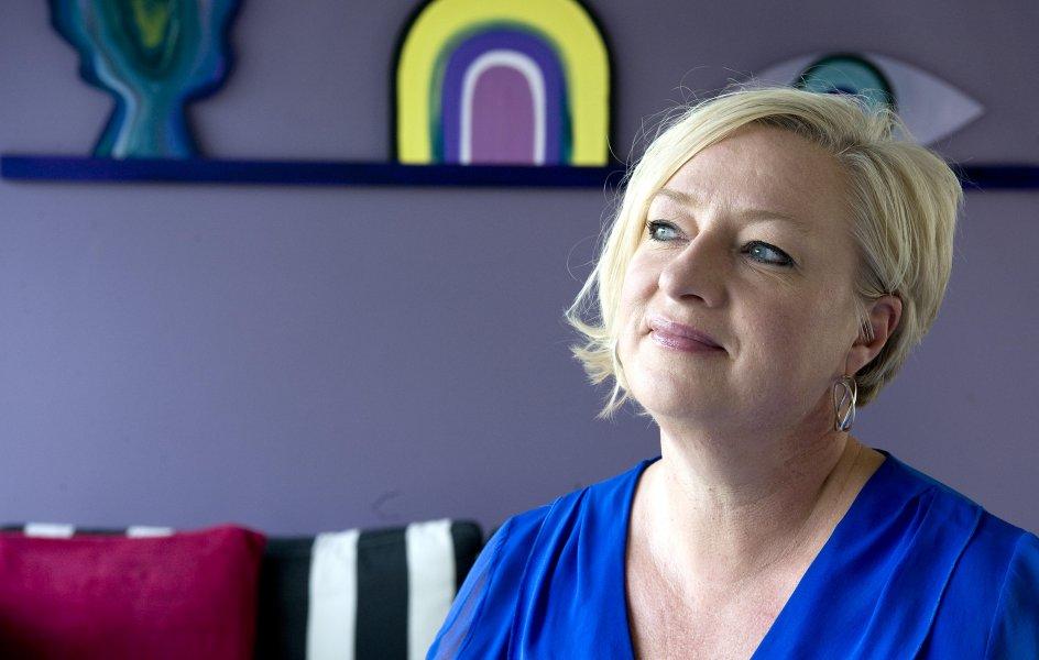 Lisbeth Trinskjær er formand for Folkehøjskolernes Forening og forstander på Ubberup Højskole. – Foto: Leif Tuxen.