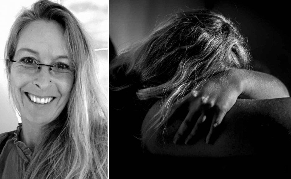 """""""Hvorfor blive i et sådant forhold? Fordi jeg ikke var i stand til at se, mærke og opleve, hvad jeg blev udsat for, mens det stod på."""" Foto: Mads Claus Rasmussen/Ritzau Scanpix"""