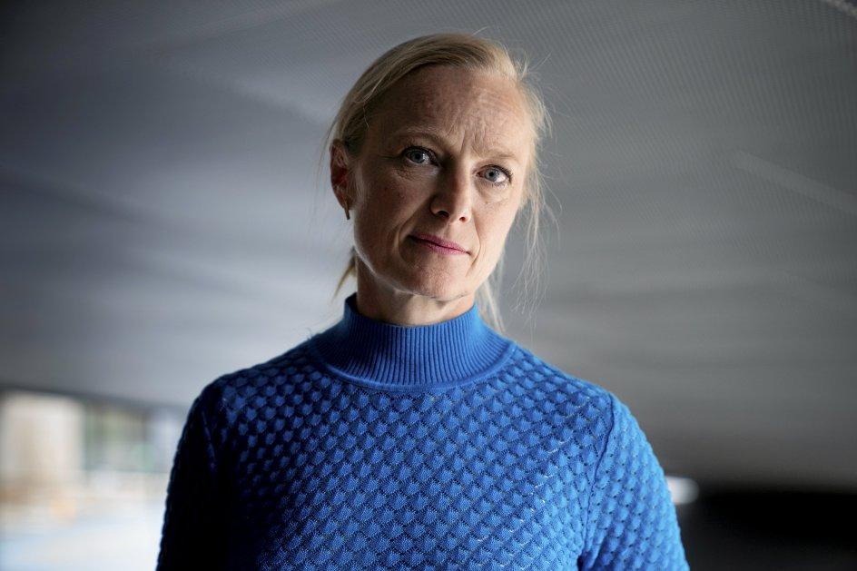 Ulla Tofte er direktør for M/S Museet for Søfart i Helsingør. – Foto: Tobias Kobborg/Ritzau