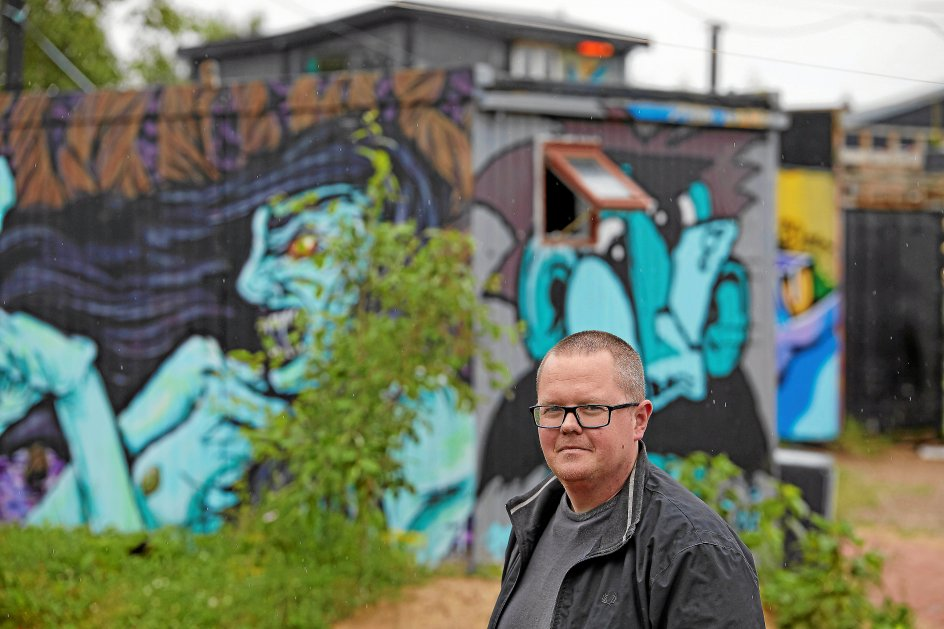David Holt Olsen er museumsinspektør for Industrimuseet i Horsens. – Foto: Lars Aarø/Fokus.