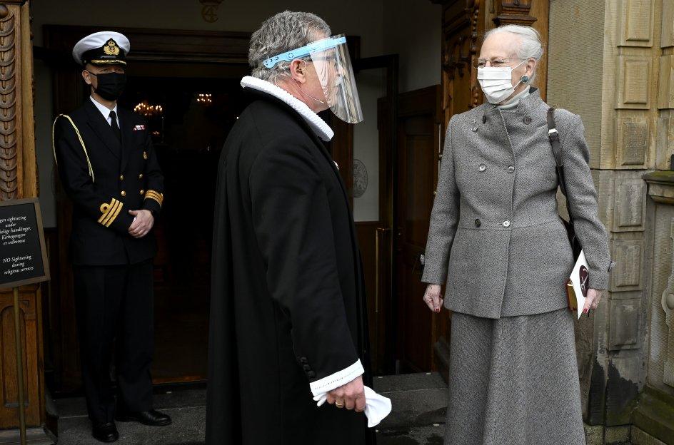Som præst i Holmens Kirke har Eijgil Bank Olesen haft flere kontaktflader med kongefamilien, der er kommet i kirken i en række forskellige anledninger.