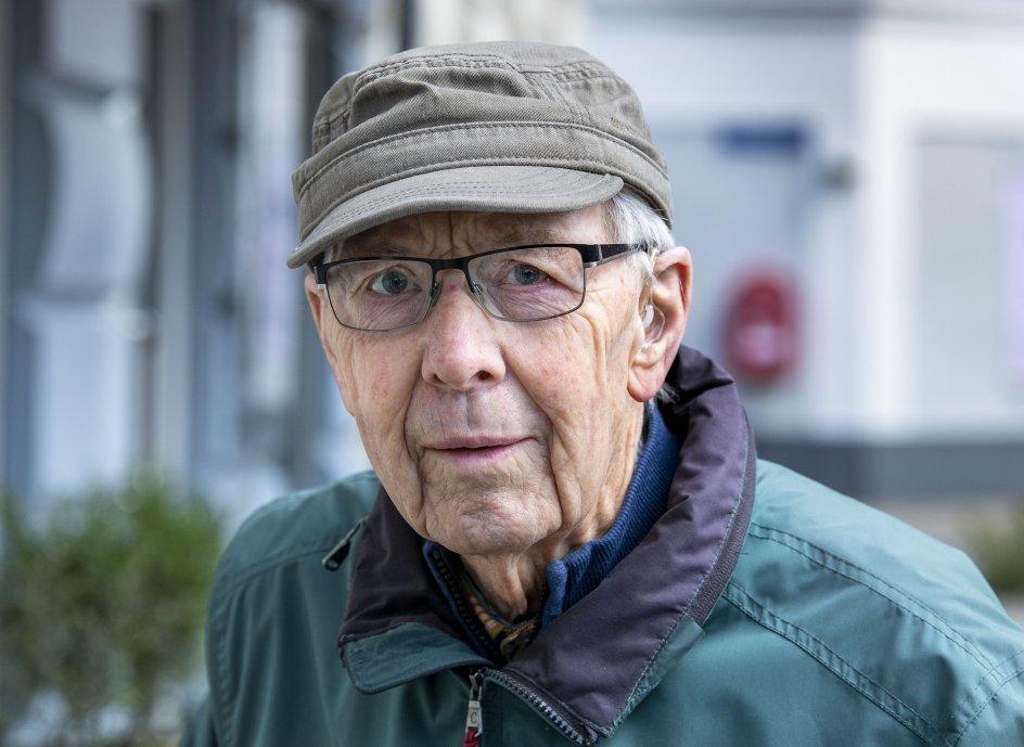Hans Særkjær fra Skjern ser positivt på nyheden om tilgangen af Jens Rohde, der kan placere partiet i modsætning til den stramme udlændingepolitik.