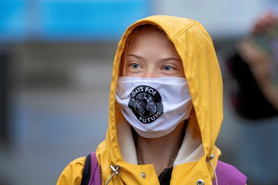 Den svenske klimaaktivist Greta Thunberg har fået mange unge til at engagere sig i, hvordan verden skal se ud efter pandemien. – Foto: TT News Agency/Reuters/Ritzau Scanpix.