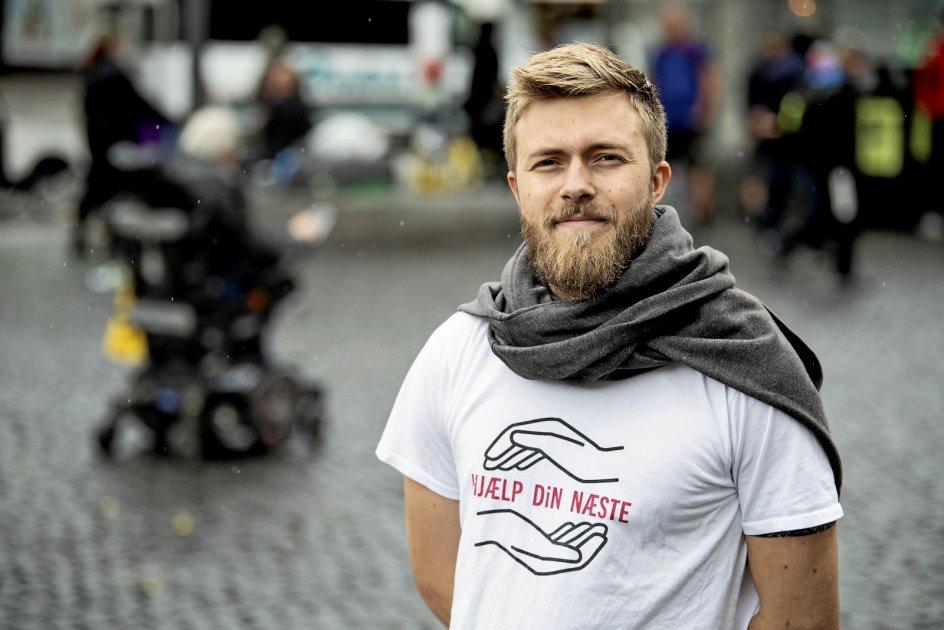 """""""Det er vigtigt for mig at være autentisk: at være et menneske, der ikke bare taler, men som sætter konkret handling bag ordene,"""" siger Snorre Pedersen."""