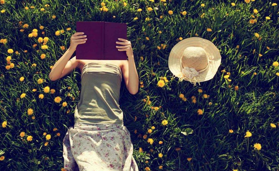 """Litteraturlæsning kan ligefrem lindre symptomer på stress, angst og depression, fremgik det af P1-programmet """"Kejser""""."""