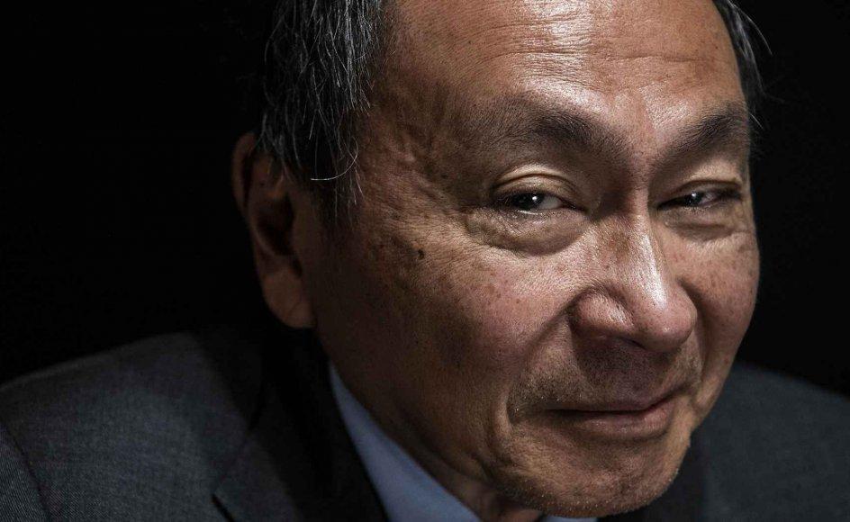 Francis Fukuyama gæstede i december 2018 Hasseris Gymnasium, hvor han talte på et arrangement for 600 gymnasielærere i samfundsfag og historie.