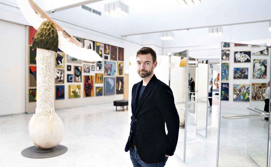 """""""Vi skal ikke tro, at kunsten og kulturen løser den krise, vi står midt i, men vi skal være modige og stå fast på, at kunst og kultur er helt centralt, når vi skal forstå den verden, vi deler,"""" siger Lasse Andersson"""