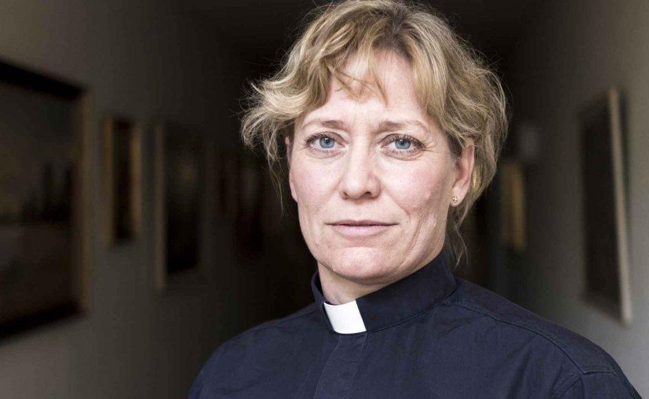 Ulla Thorbjørn Hansen er den tredje bispekandidat i Helsingør Stift, hvis hun får nok stillere. En af hendes mærkesager er at gøre op med mobning i folkekirken.