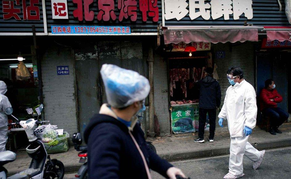 Markeder, hvor mange dyrearter og mennesker er i tæt kontakt med hinanden, kan  være en farlig kombination, som gør det nemt for dødelige virusser at sprede sig. Det er i dag stadig muligt i et vist omfang at handle med vilde dyr i Kina og flere lande i Sydøstasien.