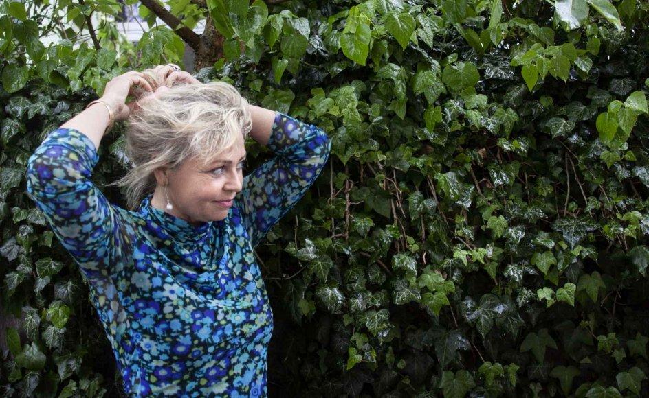 """Annette Bjergfeldts romandebut """"Højsangen fra Palermovej"""" handler om den store, berusende kærlighed til både mennesker og til kunsten. – Foto: Liv Høybye Jeppesen."""