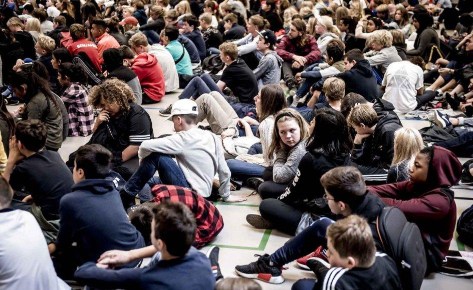 Når krisen er overstået, skal der ske en massiv genopbygning af verden, lande og lokalsamfund. De unge mennesker er vigtige, og blandt andet skal en generation skal uddannes i bæredygtighed, skriver 20 danske civilsamfundsorganisationer. Arkivfoto.
