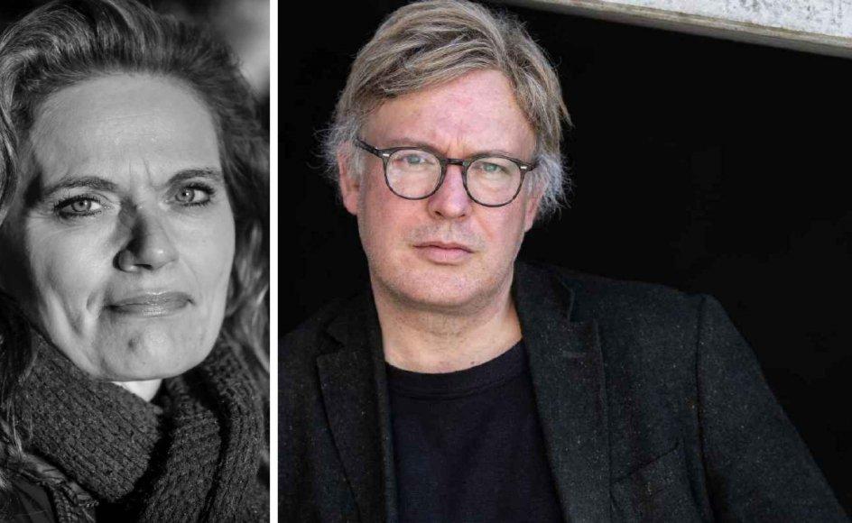Sørine Gotfredsen har en velment opfordring til præst og forfatter Caspar Wenzel Tornøe efter at have læst hans bog. Foto: Jens Bach.