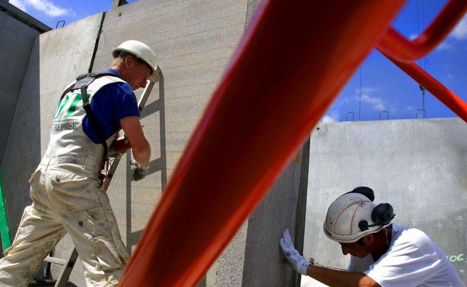Analyse fra Arbejderbevægelsens Erhvervsråd viser, at 6 ud af 10 lønmodtagere med fysisk anstrengende arbejde forventer at trække sig tilbage før folkepensionsalderen. Arkivfoto.