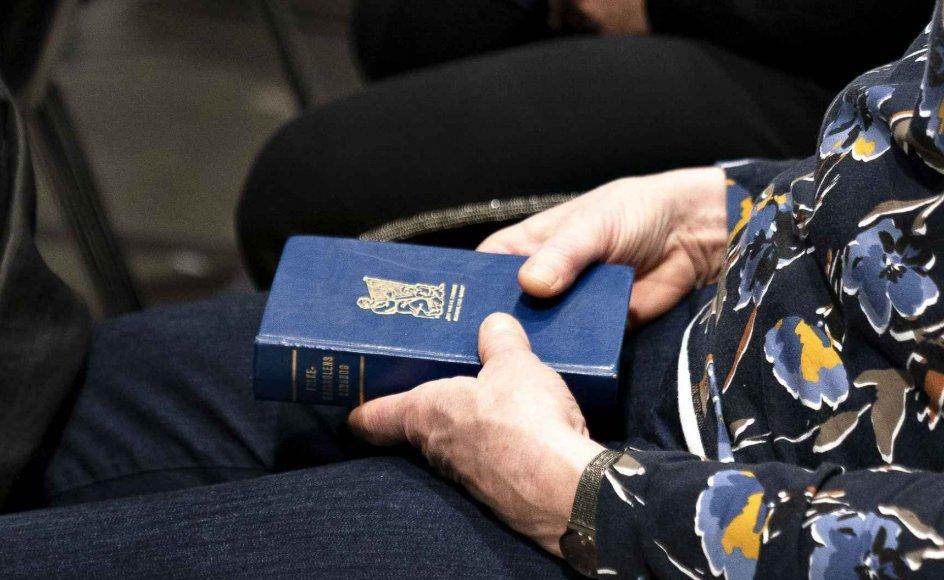Asger Baunsbak-Jensen, tidligere direktør i Undervisningsministeriet og pastor emeritus, mener, at det var sværere at finde lignende opbakning til kristendom og salmesang for 20-30 år siden. Arkivfoto.