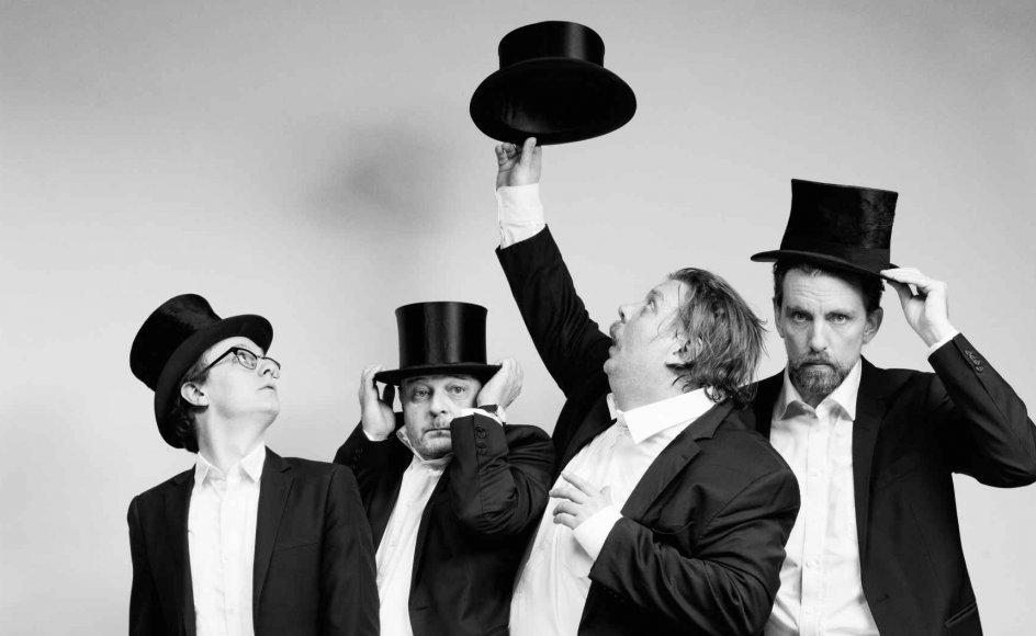 Teatret ved Sorte Hest har lavet en strålende opsætning af klassikeren 'Mens vi venter på Godot'.