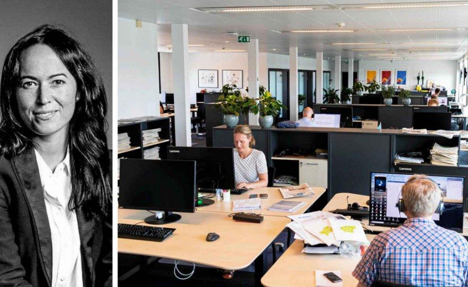 Krænkelser kan opstå på alle arbejdspladser, hvis der er en kultur, der tillader, at det kan ske, siger erhvervspsykolog og forfatter til en ny bog om seksuel chikane Ditte Darko. – Arkivfoto: Anne Myrup Pedersen/Ritzau Scanpix.