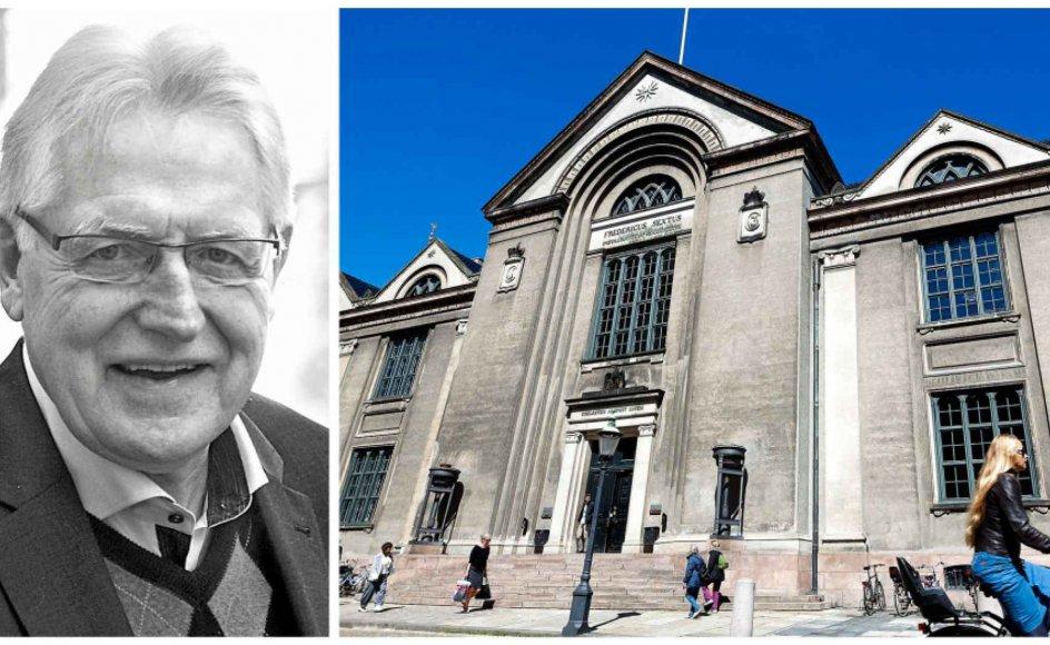 Den kulturelle situation har efterladt teologien hjemløs i det akademiske establishment, skriver professor emeritus Viggo Mortensen. Foto: Leif Tuxen og Niels Ahlmann Olesen/Ritzau Scanpix