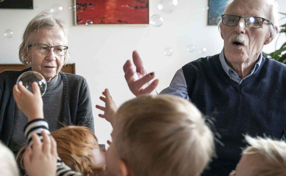 """""""Flere vælger ikke at få børn, og færre får to, tre eller flere børn. Derfor må flere forvente ikke at blive bedsteforældre, eller at få blot et enkelt eller to børnebørn,"""" siger Per Schultz Jørgensen. (Arkivfoto)."""