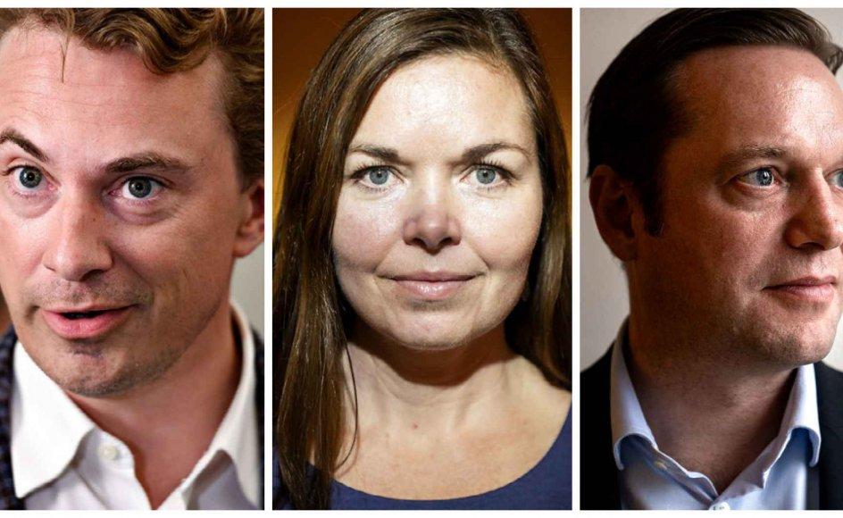 Morten Messerschmidt (DF), Louise Schack Elholm (V) og Marcus Knuth (C) er alle enige i, at det rammer de forkerte, når regeringen ønsker, at trosamfunds prædikener, der ikke er på dansk, skal oversættes til netop dansk.