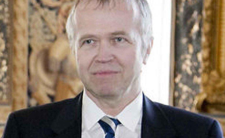 Kunstkritikeren Peter Michael Hornung.