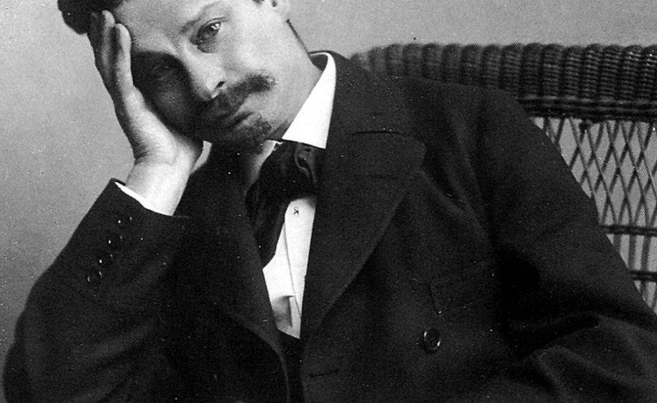 Forfatteren, litteraturforsker og kritiker Georg Brandes (1842-1927).