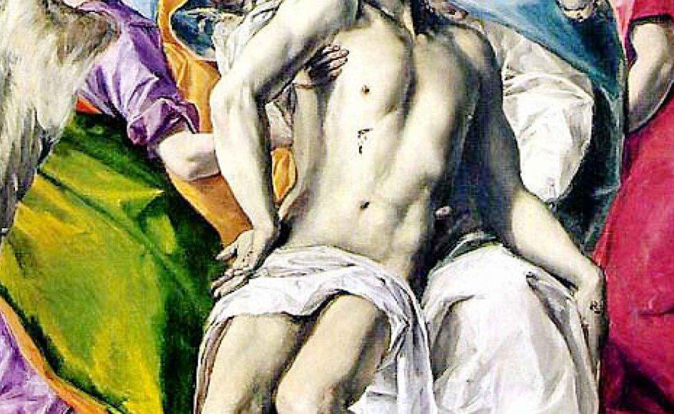 Næst efter Helligånden er musikken den stærkest virkende kraft i kirken, som Martin Luther siger. Her er Treenigheden malet af El Greco.