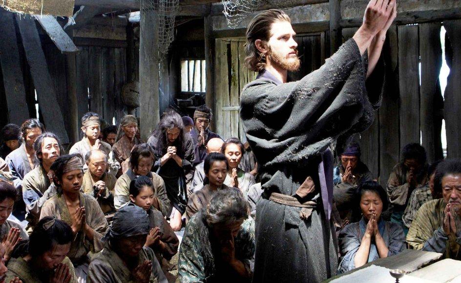 Andrew Garfield i rollen som jesuiterpræsten, der søger ind i 1600-tallets lukkede Japan og finder sin skæbne og – måske – mister sin tro. –