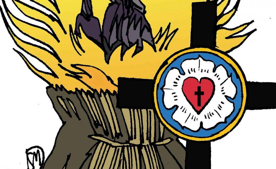 Bjørn Thomassen ønsker at sammenhængen mellem reformation og forfølgelser af hekse bliver almen viden.